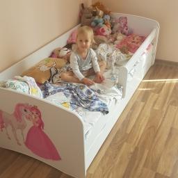 Łóżko i poduszka baju baju spać… – nowe łóżeczko Łucyjkownika.